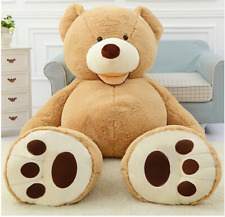 78'' Giant Brown Teddy Bear Cover (No Filler) for Birthday Gift 200cm 6.5FT NEW