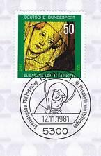 BRD 1981: Heilige Elisabeth von Thüringen Nr. 1114 mit Bonner Stempel! 1A! 154