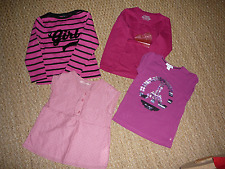 Lot vêtements Rose fille 4 ans t. shirts pyjama OKAIDI - Z