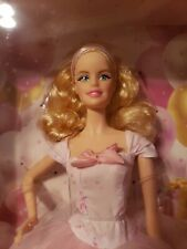 Mattel 2016 Birthday Wishes Barbie Doll NRFB