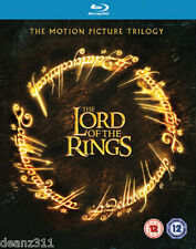 Lord of the Rings Theatrical Trilogy Blu-ray Box Set BRAND NEW + SEALED REGION B