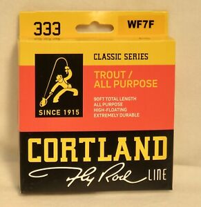 Cortland 333 Classic Series Fly Line - Floating  - WF7F
