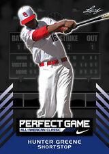 2016 PERFECT GAME Leaf card set - GREENE ~ TORAL ~ ADELL ~ TURNEY