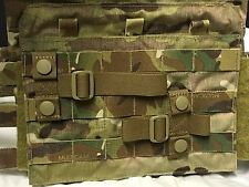 2 TACTICAL MOLLE PALS WEBBING PLATE CARRIER VEST ADAPTER T-BAR HORIZONTAL LOOP