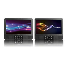 Lenco DVP-938 Doppelpack 2x 22,5cm portable DVD Player USB Akku LCD Display 16:9