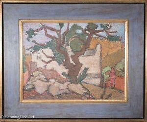 David Zak Original Judaic Painting of Jerusalem Landscape, Rare & BEAUTIFUL!
