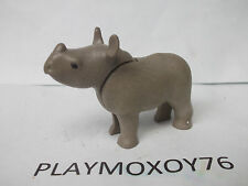 TIENDA PLAYMOXOY76. PLAYMOBIL ANIMALES. CRÍA DE RINOCERONTE.