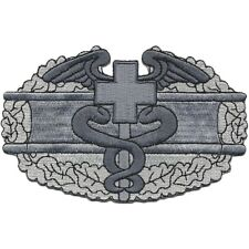 ARMY Combat Medic Corpsman EMT Rescue Badge Military Patch