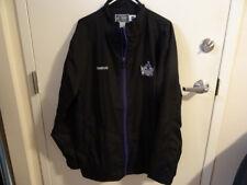 Black Reebok Los Angeles Kings Center Ice Jacket Size XL