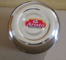Stainless Steel Tall Tin Storage Dabba Canister - High Grade 12 cm