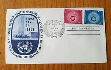 UNITED NATIONS EMERGENCY FORCES FIRST DAY ISSUE FDC NEW YORK APRIL 1959 USA #2/7