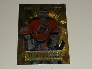 1996-97 Pinnacle Team Pinnacle #9 Martin Brodeur Chris Osgood