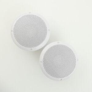 Marine Grade Completely Waterproof Boat Speakers 80W (Pair), Boat Marine Outdoor