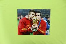 Gerard Pique Hand Signed Autograph 8x10 Photo Spain Barcelona World Cup 2010