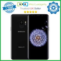 New Samsung Galaxy S9 64GB Black Dual SIM G9600 Unlocked - 1 Year Warranty