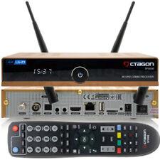 ➨ OCTAGON SF8008 4K GOLD UHD E2 DVB-S2X & DVB-C/T2 Combo DUAL OS Receiver WiFi ✅