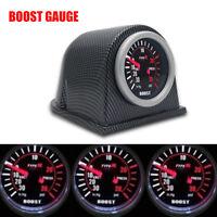 52MM Car Motor 30 PSI LED Pressure Vacuum Turbo Boost Pointer Dials Gauge Meter