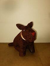 Ancienne peluche ÉTRANGE CHIEN / vintage strange stuffed dog - ?? 30/40's ??