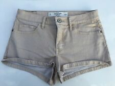 abercromie & fitch shorts gold size 2 cute excellent