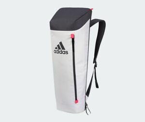 adidas V3 Racket Stand Backpack Badminton Tennis Raw White NWT BG940111