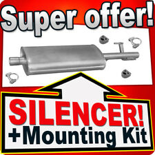 Middle Silencer MERCEDES SPRINTER 2-T 3-T 4-T CDI 2000-2006 Exhaust Box MMB