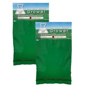 2 X Fresh Stock Smart Co2 i Bags Hydroponic Growing Yields 5-15 M2 Area