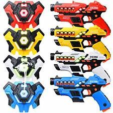 LUKAT Laser Tag Guns Set of 4 with Spray Function, Upgraded Version Ⅲ Laser...