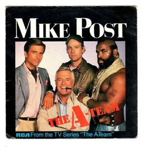 "MIKE POST.THE A TEAM ""THEME"" / 6 SLASH 24.UK ORIG 1984 7"" & PIC/SL.EX/VG"