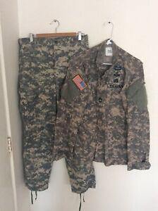 US Army ACU Combat Set Size Medium Regular Master Sergeant