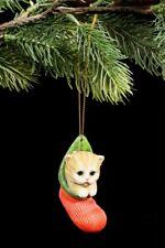 ÁRBOL DE NAVIDAD ADORNO - Gato en el MEDIA - Deco figura bola Calcetín