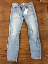 Forever 21 Low Rise Skinny Fit Distress Jeans sz 29
