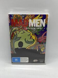 Mad Men : Season 7 : Part 1 (R4 DVD, 2014, 3-Disc Set) NEW & SEALED