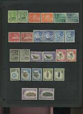 Aden 1953-63 defin set clean MNH