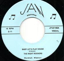 La nuit ROCKERS-Baby permet de Play House/E-string Boogie Jan Rockabilly HEAR