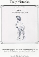 Schnittmuster Truly Victorian TVE 01: 1903 Edwardian Corset