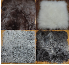 Top Seat Pads Cushion Natural Fur Edition Wollkissen Chair Cushion fur Cushion
