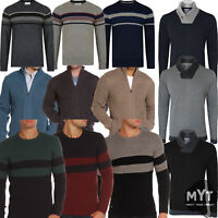 New Old Boys Winter Kensington Mens Pullover Jumper Lambswool Knitted Sweater