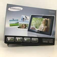 Samsung Digital Photo Frame 8'' Screen Black Frame #129