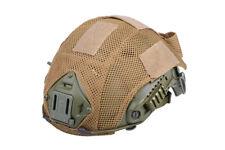 Fast Helmet cover - AIRSOFT AEG SOFTAIR funda para casco TAN, D.E.