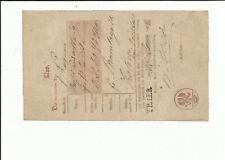 Prusse / Trèves Grand L1 1855 sur Postschein