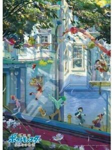 """500-piece jigsaw puzzle theater version Pokemon everyone of the story """"E"""