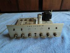 FISHER X-100B STEREO INTEGRATED TUBE AMPLIFIER