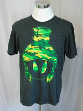 Marvin the Martian Camo T-Shirt L Looney Tunes Warner Bros