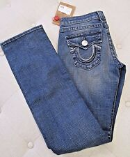TRUE RELIGION Women's Medium Baja Billy Rainbow Jeans - Size 26 - NWT $262.00