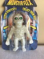 New Rare Collectible Monster Flex Glow In The Dark Skeleton Super Stretchy Toy