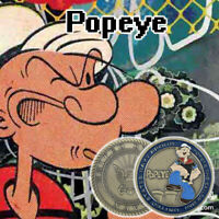 Popeye Bronze Plated United States Navy Challenge Creative Commemorative Coins
