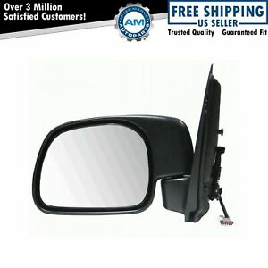 Power Paddle Style Mirror LH Left for 99-00 Ford Pickup Truck