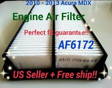 2010-2013 ACURA MDX Quality Engine Air Filter AF6172 PERFECT FIT +FREE Fast Ship