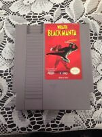 Nintendo NES Wrath Black Of The Manta Game 1985
