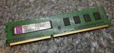 Memoria (RAM) con memoria DDR3 SDRAM de ordenador Kingston Velocidad del bus del sistema PC3-8500 (DDR3-1066)